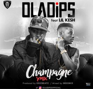 Ola Dips - Champagne (Remix) ft. Lil Kesh